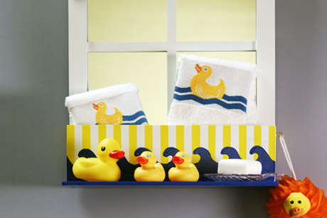 Rubber Duck Bath Shelf