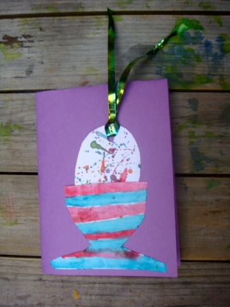 Easter Egg Bookmark and Card