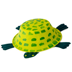 Craft Ideas For Kids Paper Bowl Turtle