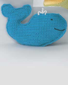 Friendly Crochet Bath Whale