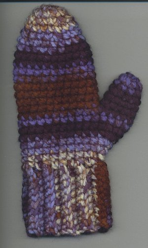 Cozy Crocheted Mittens