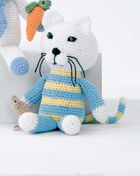 Crochet Cat and Mouse