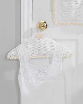 Crochet Covered Hanger