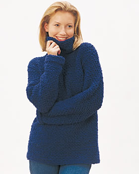 Easy Pullover Sweater Free Crochet Pattern | FaveCrafts.com