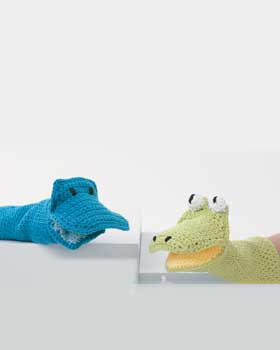Crochet Bath Friends Puppets