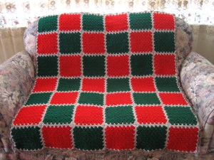 Ho Ho Holiday Afghan