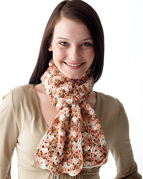 Light and Lacey Crochet Scarf