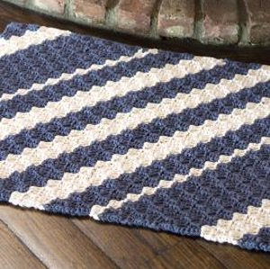 Nautical Waves Rug FaveCraftscom