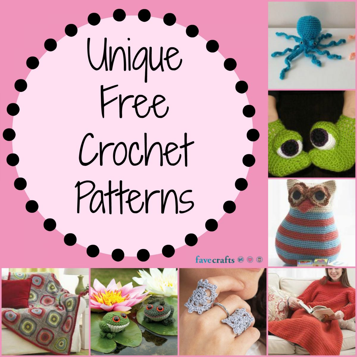 17 unique free crochet patterns favecrafts 17 unique crochet patterns bankloansurffo Image collections