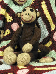 Soft Plush Monkey