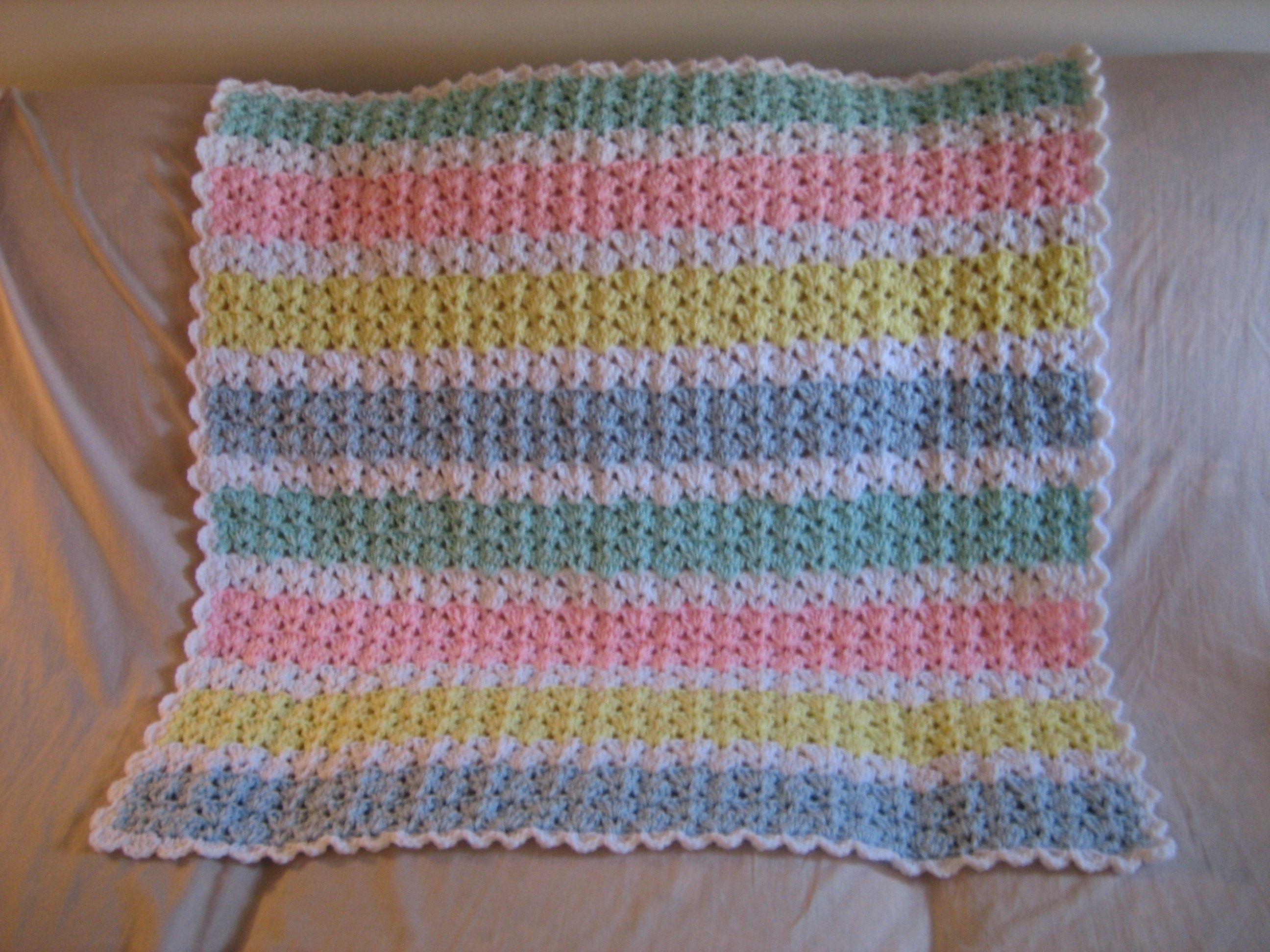 Pastel baby afghan pattern favecrafts bankloansurffo Gallery