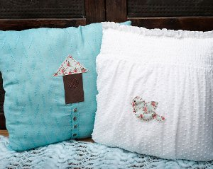 Lacy Tee Pillow