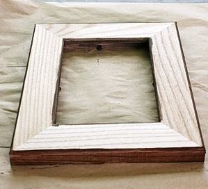 decoupage frame - Wood Picture Frame