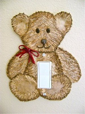 Teddy Bear Light Switch
