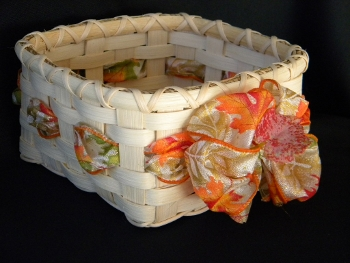 Square Autumn Basket