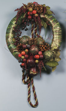 pear berry wreath