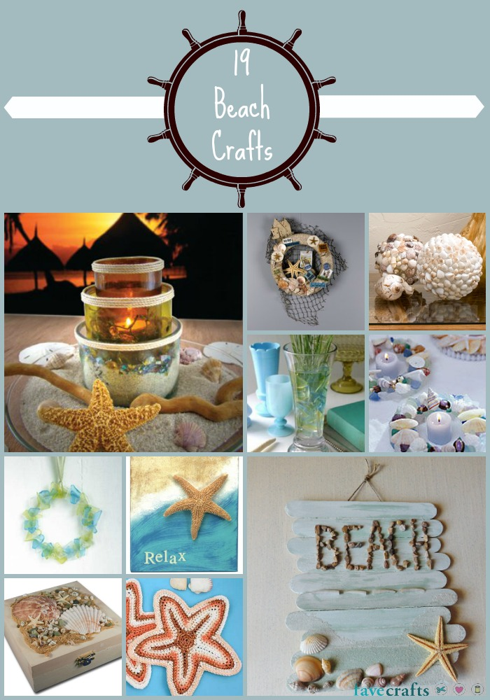 Beach Crafts for the Home