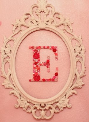 Sweet Button Monogram