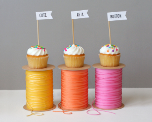 Cute as a Button Party Decor