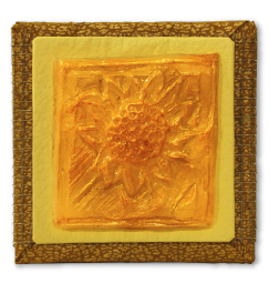 Sunflower Beeswax Magnet