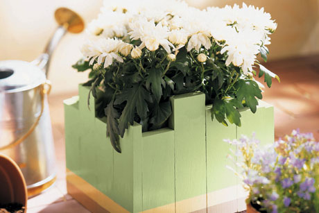 Custom Painted Garden Planter for Mom