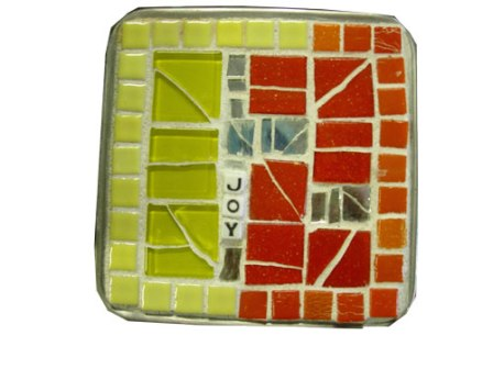 Mosaic Joy Bath Jar