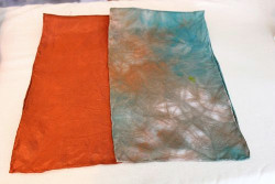 Dyeing for a Silk Scarf