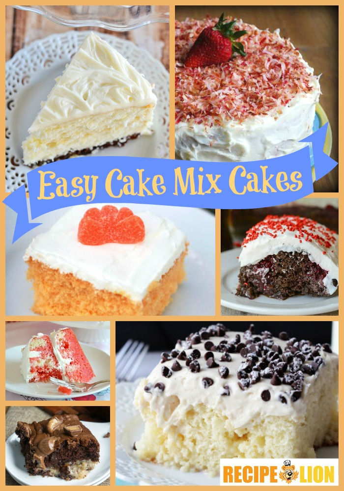One Cake Mix Many Flavors