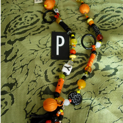 Happy Halloween Necklace
