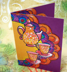Thanksgiving Tea Time Invitation
