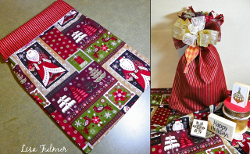 Reversible Christmas Gift Bag