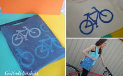 Craft Foam Bicycle Stamp