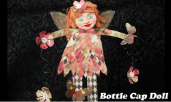 Bottle Cap Doll