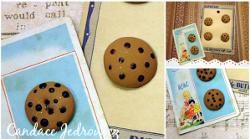Polymer Clay Cookie Buttons