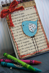 Stamped Bird Journal