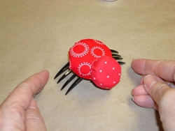 Adorable Bottle Cap Lady Bug