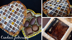 Mosaic Tile Chocolate Box