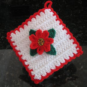 Christmas Decorations Potholder