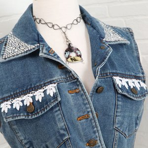 Decked Out Denim Vest