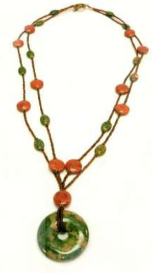 Mossy Woods Two-Strand Necklace