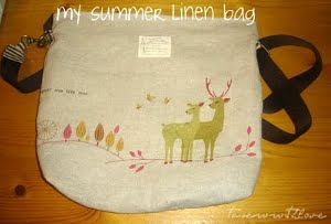 My Summer Linen Bag