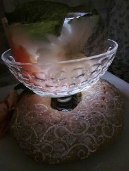 Personalized Crystal Ice Centerpieces 7