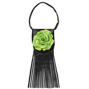 Petals and Fringe Handbag