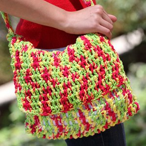 Reggae-Inspired Crochet Bag Pattern