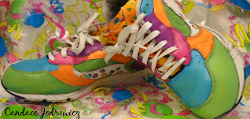 Colorful Upcycled Sneakers