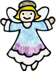Angel Window Cling