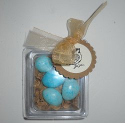 Bird and Egg Favors