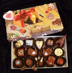 Decorative Chocolate Box