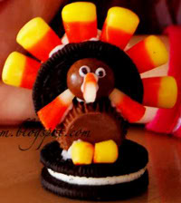 Candy and Cookie Turkey