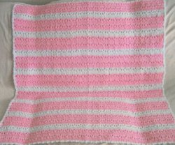 Double Crochet and V's Baby Afghan